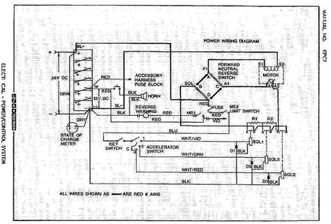 Need Wiring Diagram For Ezgo Serial