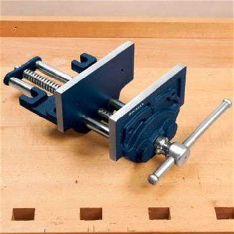 roubo style bench  front vise  nick