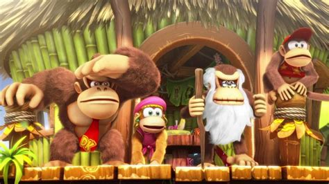 Funky Kong Returns In Donkey Kong Country Tropical Freeze