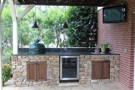 green egg outdoor kitchen big green egg island outdoor kitchen and pit in 3982