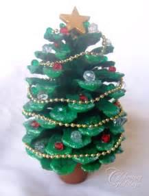 pinecone christmas tree craft home decorating interior design bath kitchen ideas
