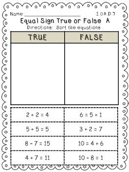 common operations and algebraic thinking math