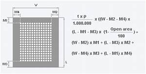 Gewicht Berechnen Dichte : gewicht eines lochbleches rmig ~ Themetempest.com Abrechnung