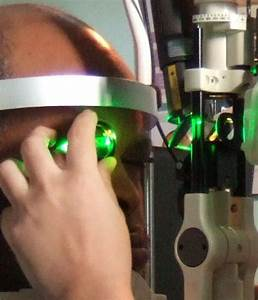 Treating Glaucoma with lasers, 532nm, Green or Argon ...
