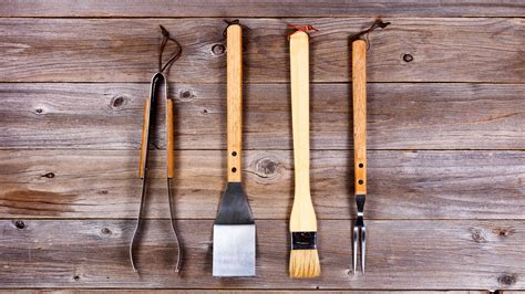 tools barbecue grilling bbq utensils today grill rustic summer outdoor wood shutterstock kitchen website