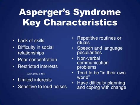 aspergers syndrome final