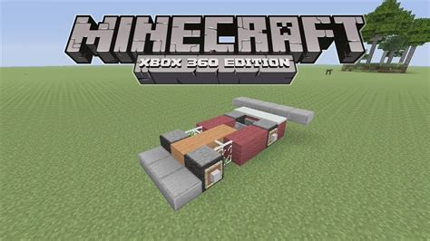 minecraft working car how to make a working car in minecraft no mods youtube