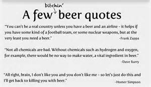 Funny Quotes and Sayings About Beer