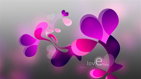 Love Tree Heart Plastic Style 2015 Simple Abstract