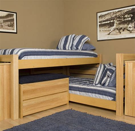 Space Saver Desk Bed by Modern Bunk Beds Interiorzine