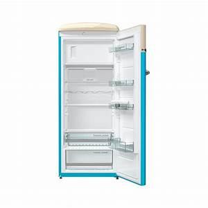 Retro Kühlschrank A : gorenje obrb153bl retro k hlschrank mit gefrierfach vw bulli design blau 260l ~ Orissabook.com Haus und Dekorationen