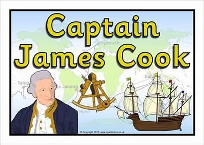 Cook Captain Clipart James Poster Display Fleet
