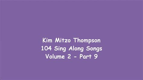104 Sing Along Songs Volume Two (part