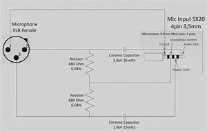 Xlr Mic Cable Wiring Diagram