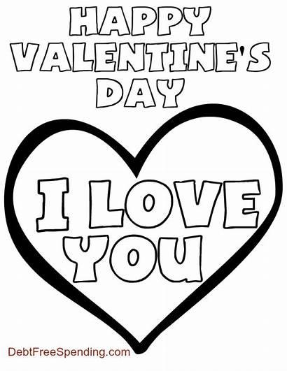 Coloring Valentine Valentines Pages Printable Pdf Jesus