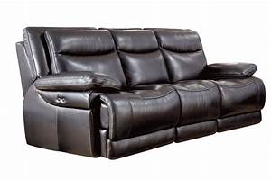 Jasper leather power reclining sofa at gardner white for Sectional sofas power recliners