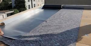 étanchéité Terrasse Extérieure : isolation invers e toit terrasse infos conseils prix ~ Edinachiropracticcenter.com Idées de Décoration