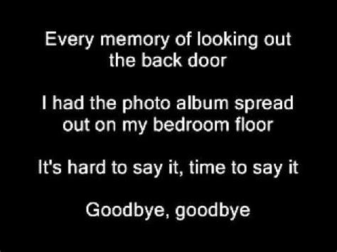 nickelback photograph  lyrics youtube