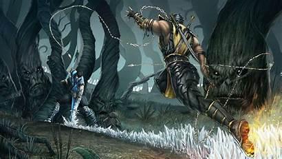 Scorpion Kombat Mortal Wallpapers Cave