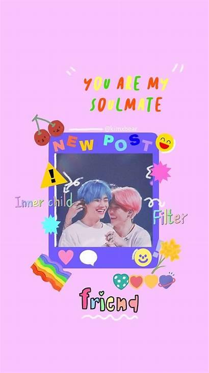 Bts Kidcore Vmin Wallpapers Kpop Backgrounds Aesthetic