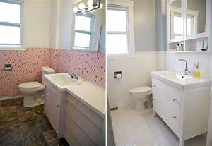 Before & After. Ikea Hemnes Vanity & Mirror. White octagon ...