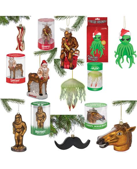 novelty christmas tree ornaments choose your style