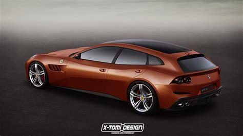 La Gamme Ferrari Gtc4 Lusso Par Xtomi Design