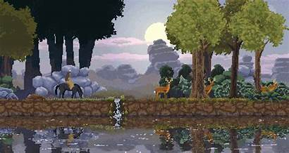 Kingdom Pixel Fall Aesthetic Rise 2000 Peaceful