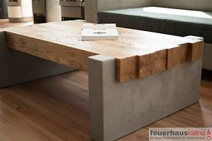 Couchtisch Aus Beton : couchtisch beton holz energiemakeovernop ~ Indierocktalk.com Haus und Dekorationen