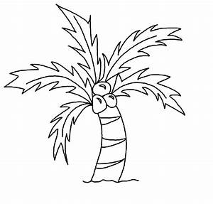coconut tree pictures drawing ~ 3D Drawing