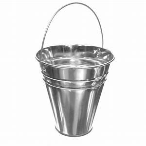 Silver, Tin, Pail, Small, Metal, Bucket, Classic, Galvanized, Bucket