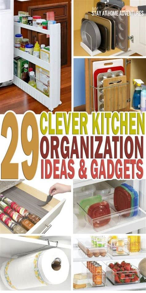Clever Kitchen Ideas by 29 Clever Kitchen Organization Ideas And Gadgets