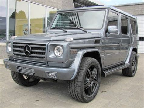 customized g wagon interior buy used 2012 mercedes benz g 550 custom blacked out g