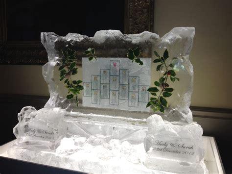 ice sculpture wedding decorations  unique idea