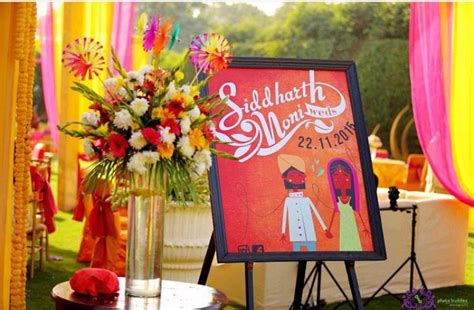 indian weddings name board for entrance wedding masala