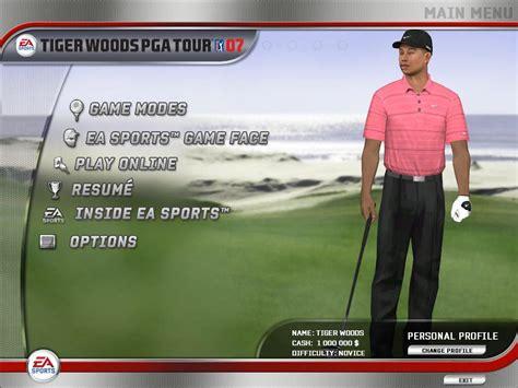 Tiger Woods PGA Tour 07 Download (2006 Sports Game)