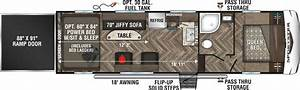 Sportster 280th Fifth Wheel Toy Hauler