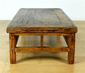 antique rustic coffee table wood stand altar display With old rustic coffee tables