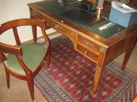 bureau style empire ensemble de mobilier de style empire bureau plat et un