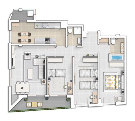 drawing floor plan atchitecturalinterior