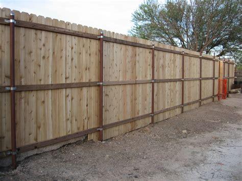 Wooden 4 Ft Vinyl Fence Panels