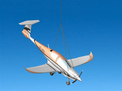 Four seater planes and spin recovery parachute | GALAXY ...