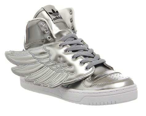 Adidas Jeremy Scott Js Wings Silver Metallic