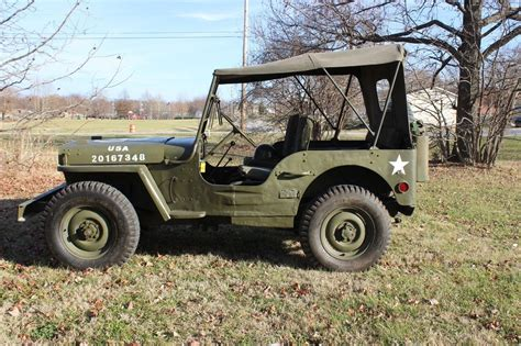 military jeep willys for sale 1942 ford gpw willys military jeep for sale