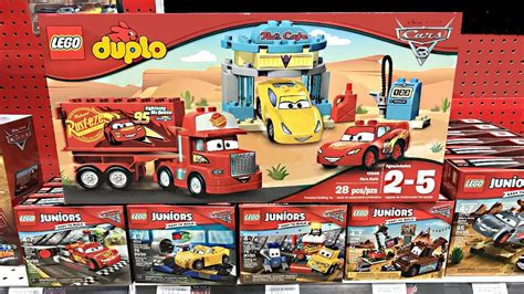 "New Set 3 Art Wall Sticker 3d Decals Removable Mural Home: New LEGO Cars 3 Sets At Toys""R""Us!"
