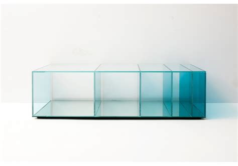 deep sea rectangular coffee table glas italia milia shop