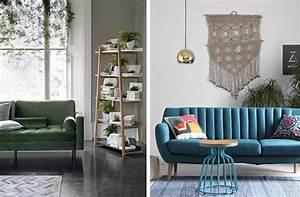 Inspirations pour un canape en velours joli place for Les couleurs du salon 0 inspirations pour un canape en velours joli place