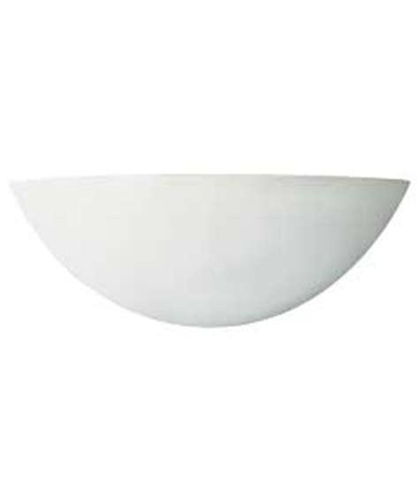 buy argos value range mars ceramic wall light white at