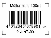 Pics For > Barcode With Price And Date