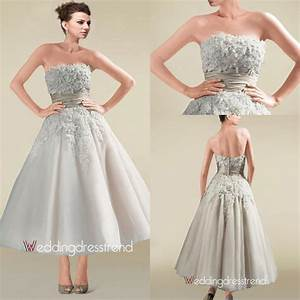 silver color short ball gown wedding dresses applique sash With short silver wedding dresses